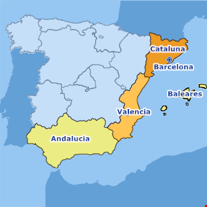 Map Of South West Coast Of Spain.Top 50 Spain Villas For Rent Amazing Photos Villa Rentals In