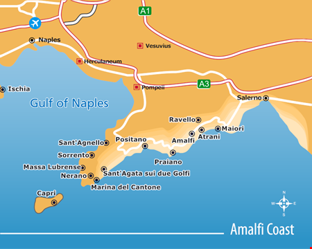 Amalfi Coast Villas for Rent