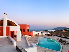 Photo 2 of Luxury Island Villa on Santorini with Views of the Mediterranean Sea