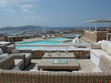 Photo 2 of Large Greek Island Villa with Views of the Aegean Sea and Within Walking Distance of Town