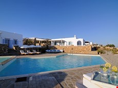 Photo 1 of Large Greek Island Villa with Views of the Aegean Sea and Within Walking Distance of Town