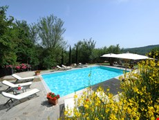 Photo of Villa with Pool and 2 Guesthouses for a Group in Eastern Tuscany