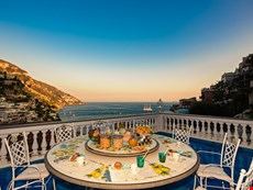 Photo of Stunning Villa with Pool and Sea Views Located in Positano near restaurants, shops, markets, and bars