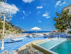 Photo 2 of Stunning Villa with Pool and Sea Views Located in Positano near restaurants, shops, markets, and bars