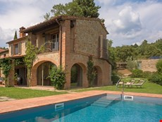 Photo 2 of Arezzo countryside oasis with pool, views, garden, on-location winery
